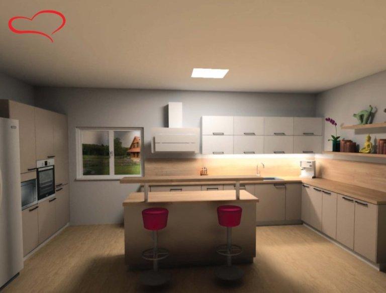 vizualizace kuchyně Oresi