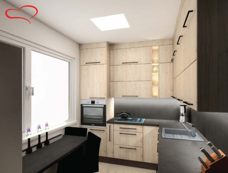 Návrh kuchyně 3D Oresi